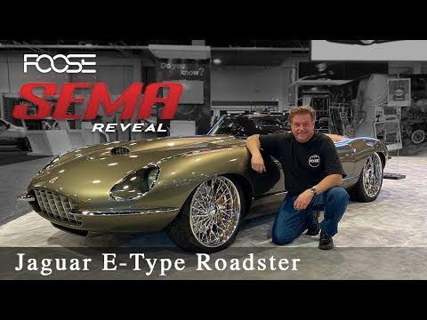 Foose Design Jaguar E-Type Roadster - The Reveal!