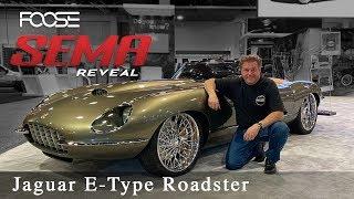 Download Foose Design Jaguar E-Type Roadster - The Reveal! Mp3 and Videos