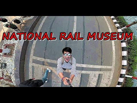 INDIA'S NATIONAL RAIL MUSEUM NEW DELHI | INDIAN RAILWAYS | Ki and Ka Movie Set