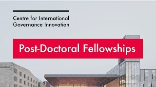 International Law Research Program 2017 Post-Doctoral Fellowship