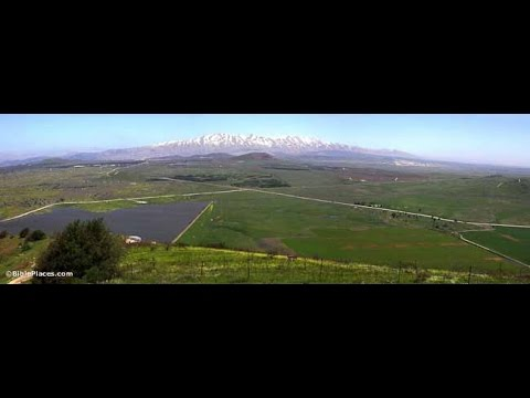 Golan Heights & Control For OIL& Cosmic Wave- Jer 3:12- 15:7 Skip 894