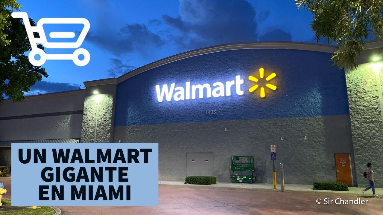Walmart gigante de Miami