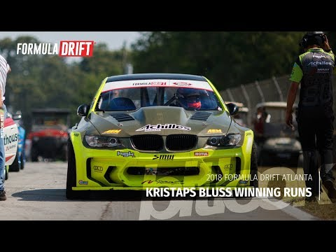 Kristaps Bluss Winning Runs at Formula Drift Atlanta 2018 | #bitlook