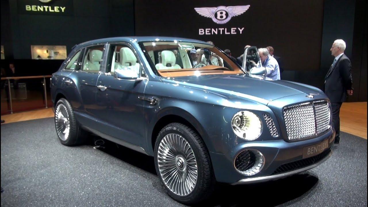 Bentley EXPF9 SUV 2012 - YouTube