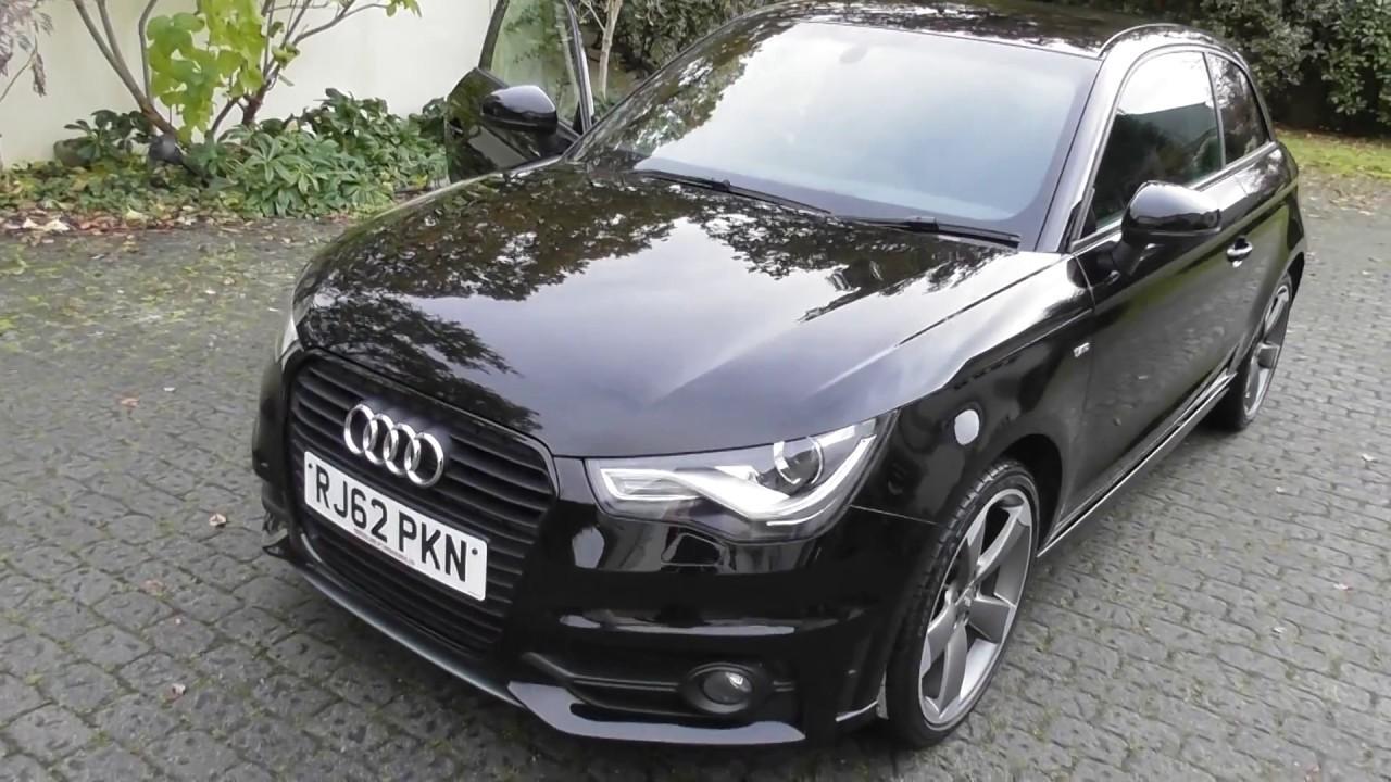 Audi a1 black edition youtube.