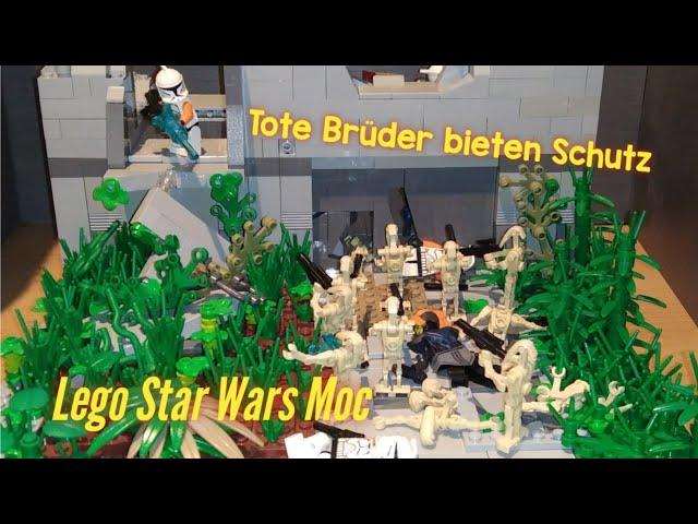 Lego Star Wars Moc - Tote Brüder bieten Schutz [German]