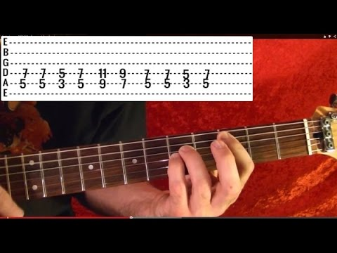 Guitar Lesson - NIRVANA - In Bloom - ( 1 of 2 ) With Printable Tabs