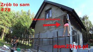 Żona zatapia siatkę | Styropian grafitowy 12cm | Dom bez pozwolenia | dom25tys | #78 | #pawełwaga