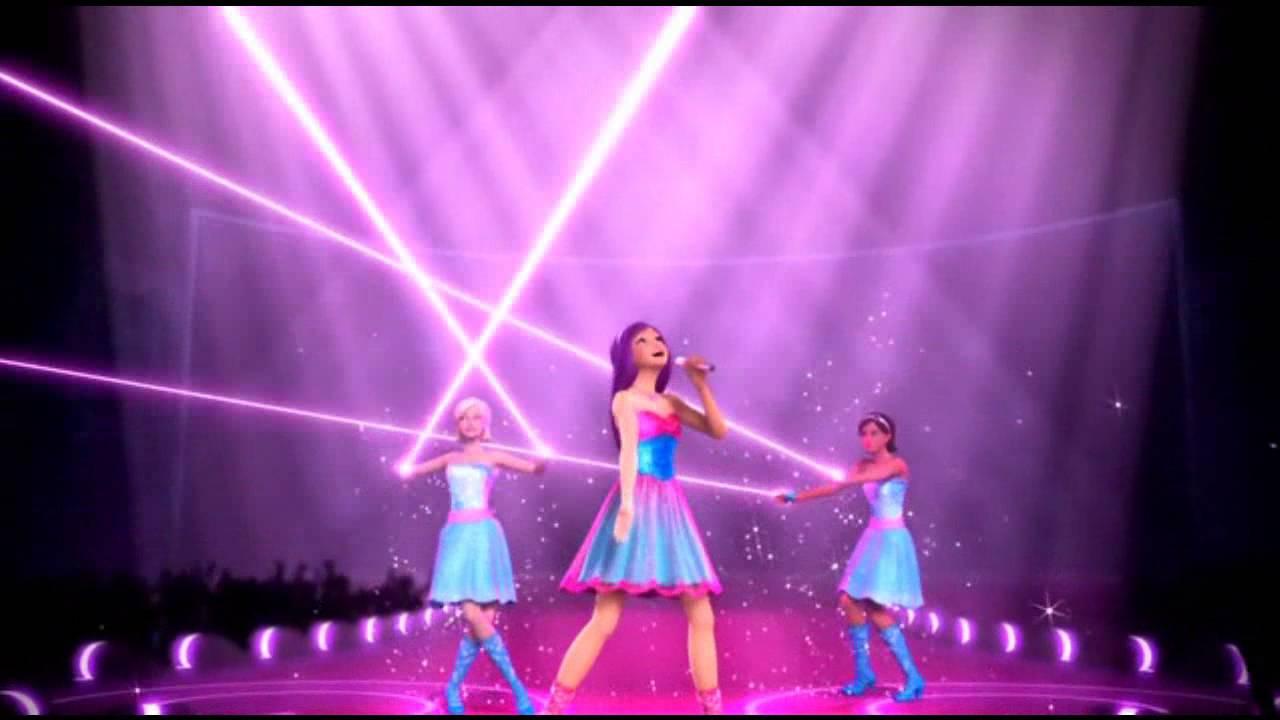 Barbie la princesse et la pop star me voici les - Barbie et la princesse pop star ...