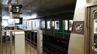 大阪メトロ24系(24901F)けいはんな線学研奈良登美ヶ丘行き 白庭台発車