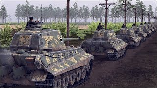 TIGER CONVOY vs 20 SHERMAN JUMBOS