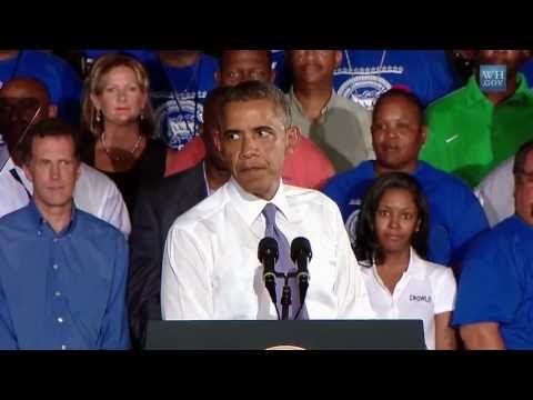 President Obama Speaks on Infrastructure and the Economy in Jacksonville FL