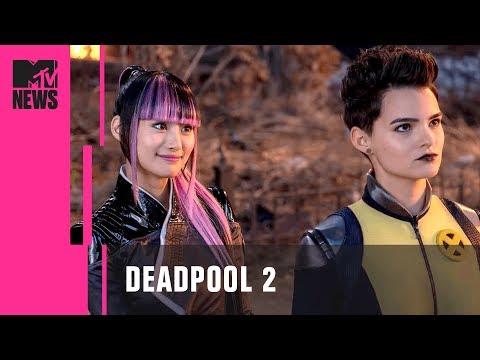 Negasonic Teenage Warhead & Yukio's Relationship in Deadpool 2 | MTV News