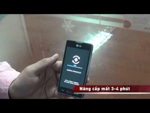 Hướng dẫn nâng cấp phần mềm có tính năng KnockON cho LG Optimus L series II 2013