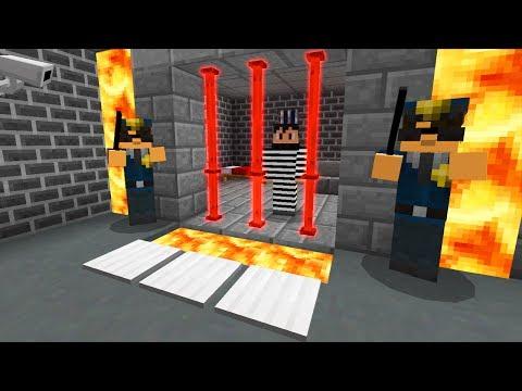How to Escape Prison in Minecraft Pocket Edition (Minecraft PRISON ESCAPE)
