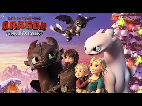 HOW TO TRAIN YOUR DRAGON: HOMECOMING | FIRST LOOK!