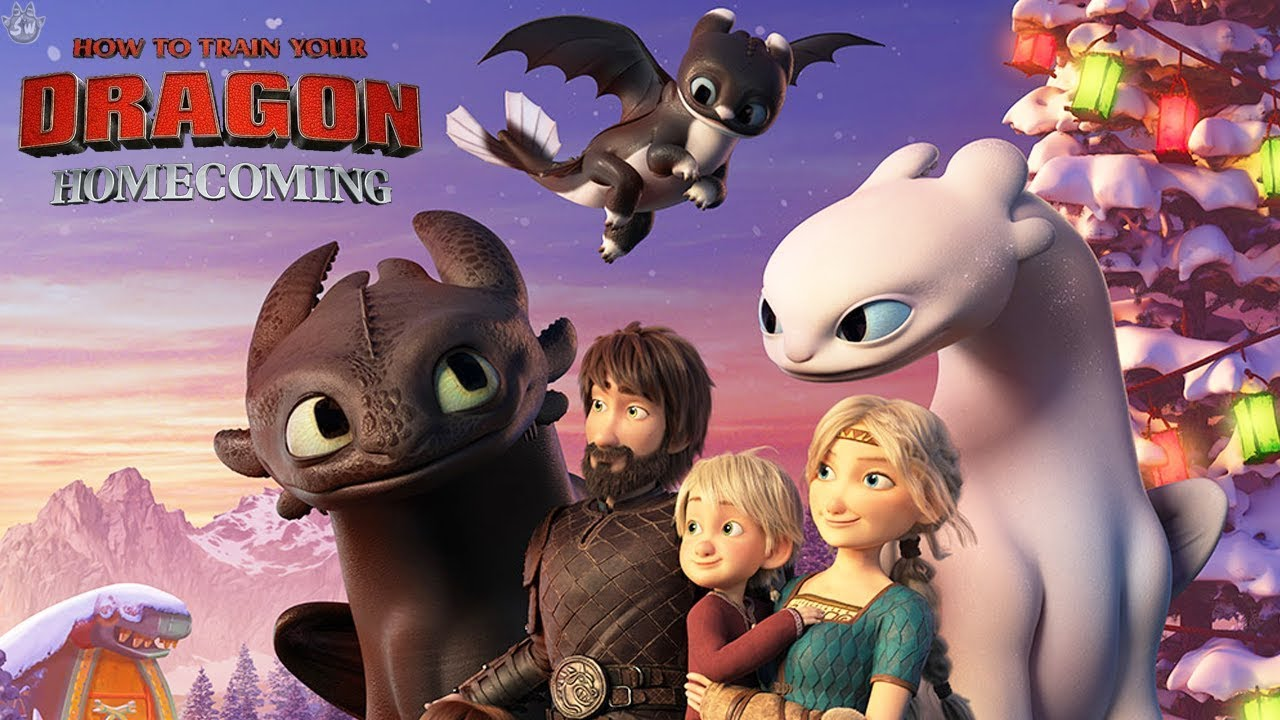 HOW TO TRAIN YOUR DRAGON: HOMECOMING  FIRST LOOK!