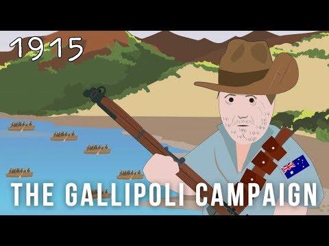 The Gallipoli Campaign (1915)
