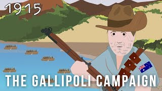 The Gallipoli Campaign (1915)