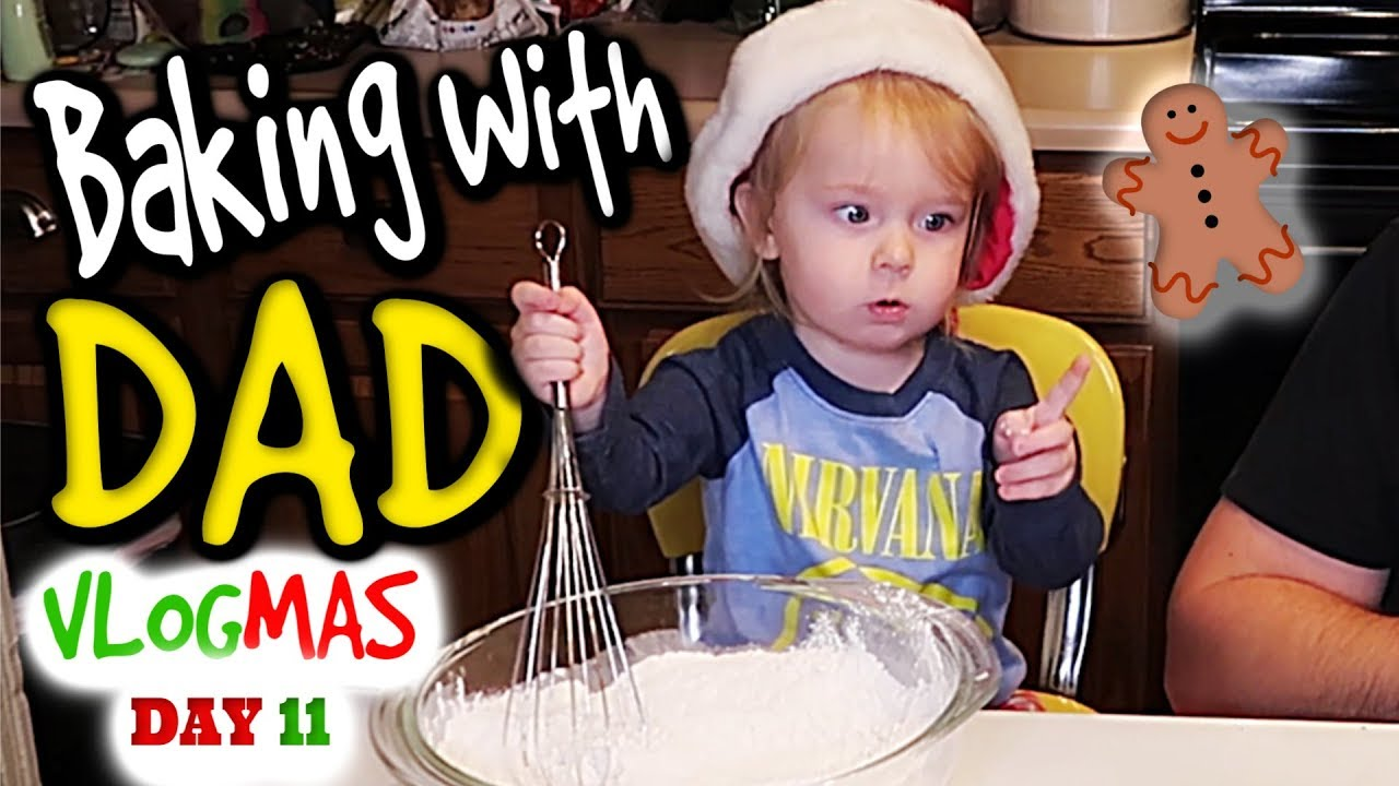 Download Baking Christmas Cookies with Daddy | Our Fire Life Vlogmas 2018 (11 of 25)