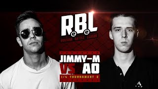 RBL: JIMMY-M VS АО (1/4 TOURNAMENT 2, RUSSIAN BATTLE LEAGUE)