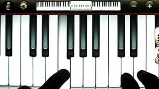 """""""К Элизе"""", вступление, Людвиг Ван Бетховен. Виртуальное пианино для андроид-планшета(телефона)"""