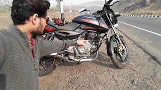 pulsar 150 bs4 mileage test on highway