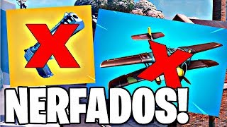 HAND CANNON AND NERFADOS AIRPLANE? -FORTNITE PATCH