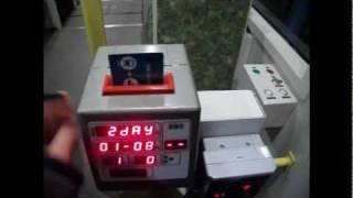 広島電鉄 磁気式カードリーダーの『音』