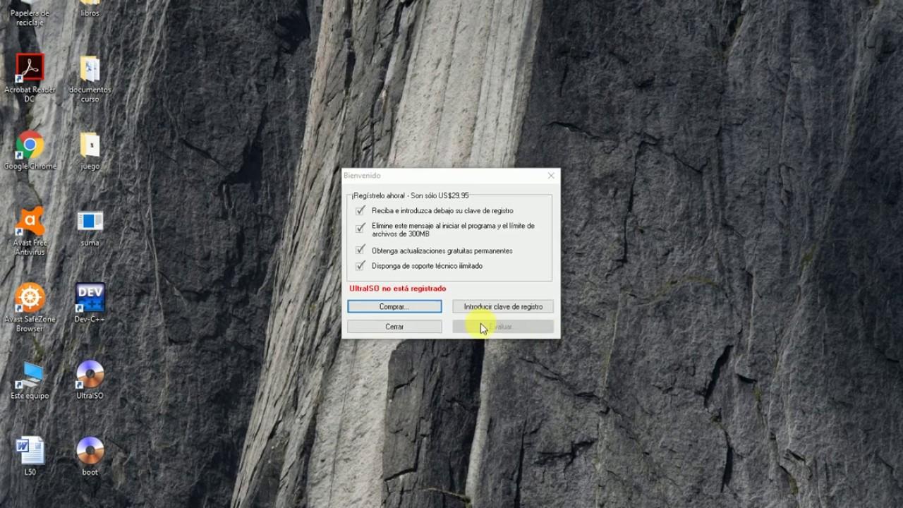 como crear archivo boot para ultraiso