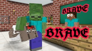 VIDEO FOR THIS WEEK.Monster School decided to make brave challenge....