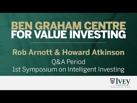 1st Symposium on Intelligent Investing Q&A | Rob Arnott & Howard Atkinson