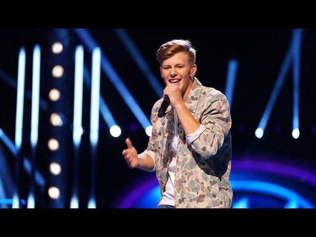 Isak Sunding: Talking Body - Tove Lo - Idol Sverige (TV4)