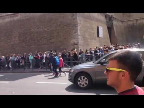 The Vatican Museum's & Sistine Chapel Line 2017
