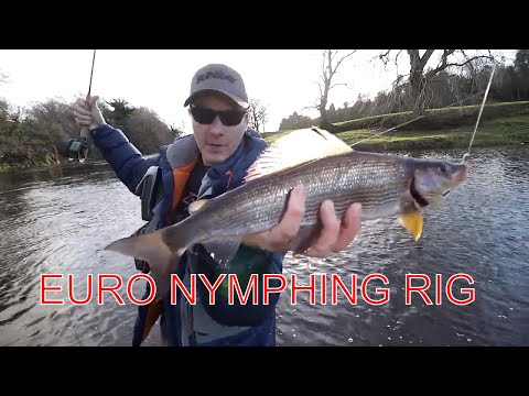 Czech Nymphing For Grayling French Leader ZERO Weight | Grayling Fishing