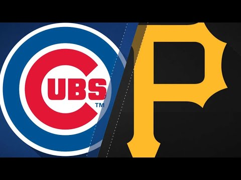 Cubs turn 7 double plays to beat Pirates: 81718