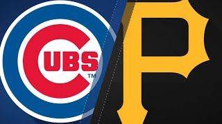 Cubs turn 7 double plays to beat Pirates: 8/17/18