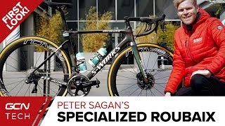 Peter Sagan's New Specialized Roubaix | BORA-Hansgrohe's Pro Bike For Paris - Roubaix