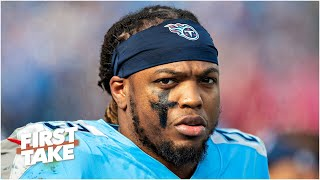 First Take reacts to the Titans placing a franchise tag on Derrick Henry