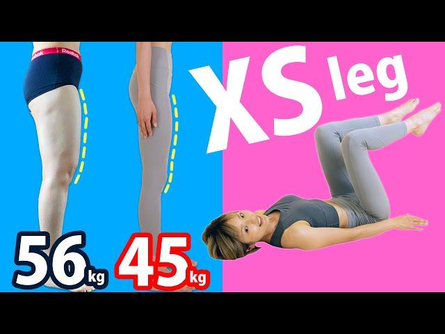 [1日1回] 筋肉太りの前もも張り100%解消!XSモデル級脚やせ!  @ストレッチルーム