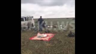 Багатих арабів, в Азербайджані, полювання, пригоди на камеру впав