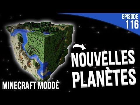 EXPLORATION DE NOUVELLES PLANÈTES !   Minecraft Moddé S3   Episode 116