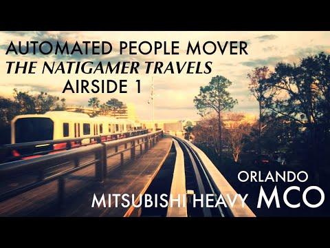 APM Automated People Mover | MCO / Orlando | Mitsubishi Heavy | Airside 1 | Jan-2018