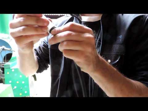 качественная смазка троса с помощью шприца