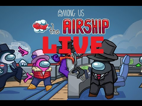 Among us LIVE- playing with viewers real stream no hidden code