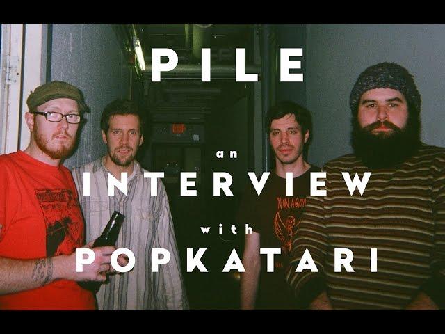 Pile Interview with PopKatari 2017 (Post-It)