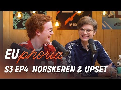 Best And Worst Bot Lanes W/ Norskeren & Upset | EUphoria Season 3 Episode 4