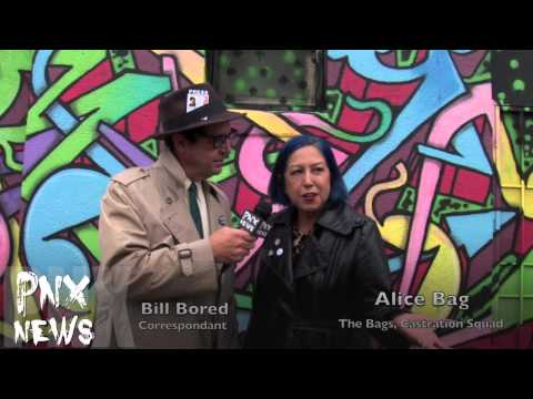 "PNX NEWS (Punks News) with ""Alice Bag"""