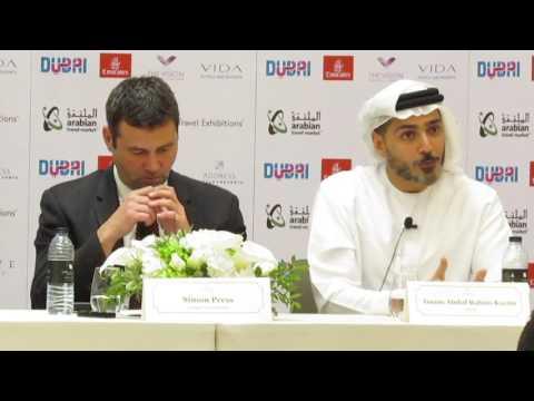 ISSAM KAZIM, CEO Dubai Tourism speaks ahead of the 24th ATM 2017