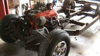 Hedges Corvettes, 1966 Corvette Convertible body removal